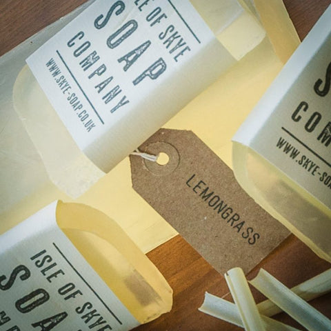 Isle of Skye Hand Made Natural Soap - Lemongrass