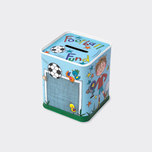 MONEY BOX – FOOTBALL FUND