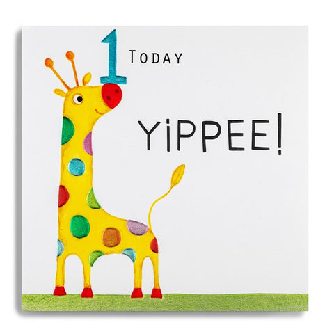 Age1 Today Yippee! Birthday Card