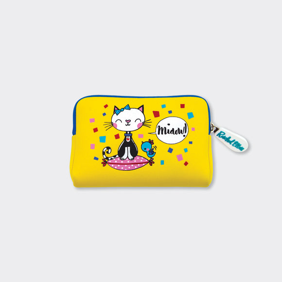 NEOPRENE PURSE – MIAOW!/CAT