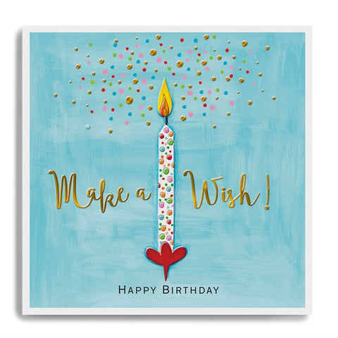 Happy Birthday Make a Wish - Candle