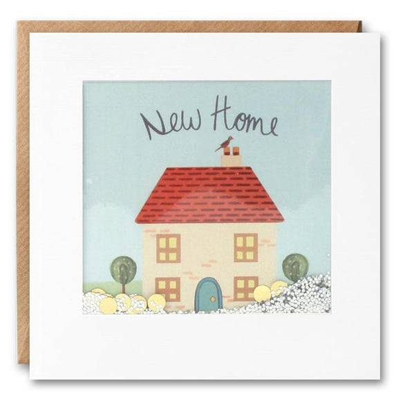 New Home Cottage  Shakies Card