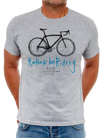 Cycology Cotton T-Shirt. -  Rather Be Riding