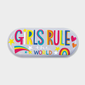 Glasses Case‐ GIRLS RULE THE WORLD