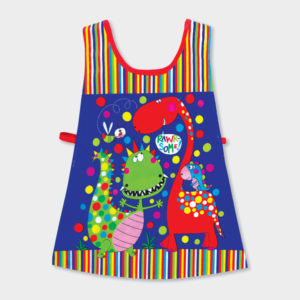 Brightly Coloured And Practical - CHILDREN'S TABARD ‐ DINOSAURS