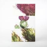 Thistle Tea Towel - Scottish Themed Beautiful Bright T-Towel