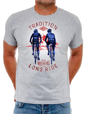 Cotton T-Shirt For Men   -  Very Popular With Cyclists - Tradition