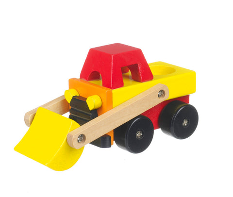 Orange Tree Toys- Wooden- First Vehicle Small Digger.