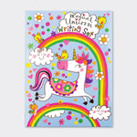 Children's  Unicorn Writing Set Wallet