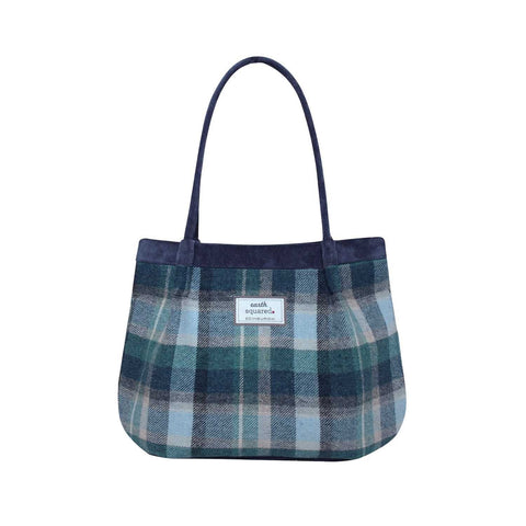 Quality Scottish Designed Cloudburst Tweed Freya Bag