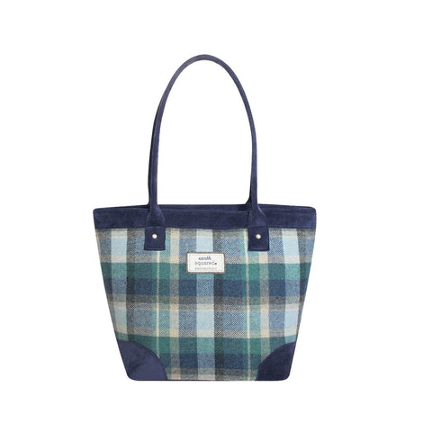 Quality -Scottish  Design Cloudburst Tweed Tote Bag