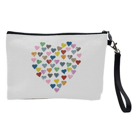 Cosmetic/Make-Up Bag  Mama Rocks -  Hearts Hearts Hearts