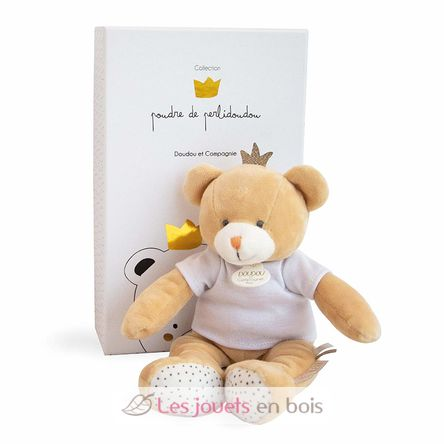 Luxury Soft Doudou Little King Bear.
