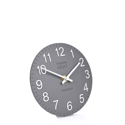 "6"" Contemporary  Cotswold Mantel Clock Slate."
