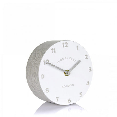 "6"" Contemporary Osprey Silver Birch Mantel Clock"