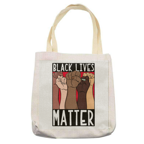 """BLACK LIVES MATTER ""  -  TOTE BAG"