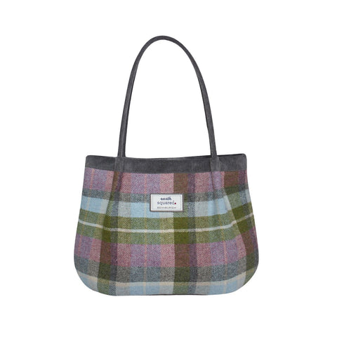 Quality Scottish Designed Forest Flower Tweed Freya Bag