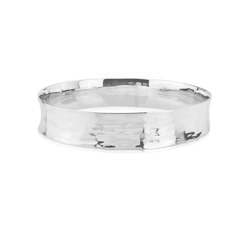 High Quality Handmade In The Uk - Silver Bangle