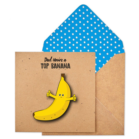 Contemporary Fun  Banana Card