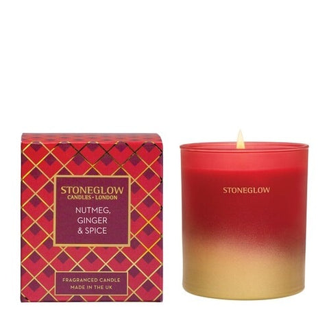 Seasonal Collection - Nutmeg Ginger & Spice - Tumbler Candle