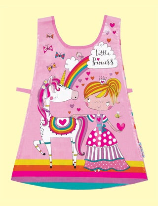 Brightly Coloured Little Princess Children's Tabard - Aged 2-4 Years