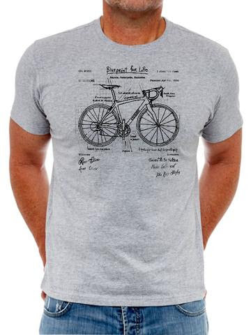 Cotton T-Shirt For Men   -  Very Popular With Cyclists - The Blueprint