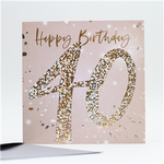 Age 40 Birthday Card