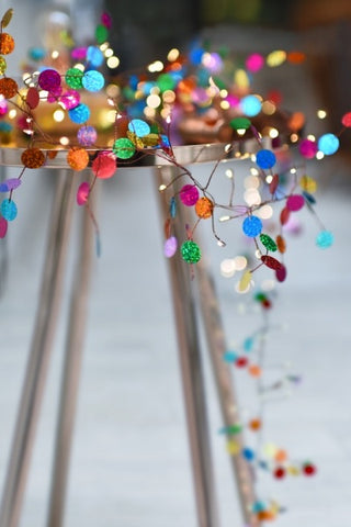 Confetti (Multi) Fairy Lights Suitable For All Year Round