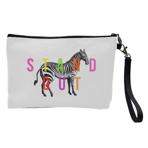 Gorgeous Quirky Contemporary Cosmetic Bag - Or Small Bag
