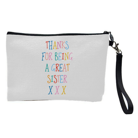 Gorgeous Contemporary Cosmetic Bag -Sister
