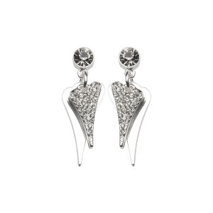 Miss Dee Double Heart Stud Earring