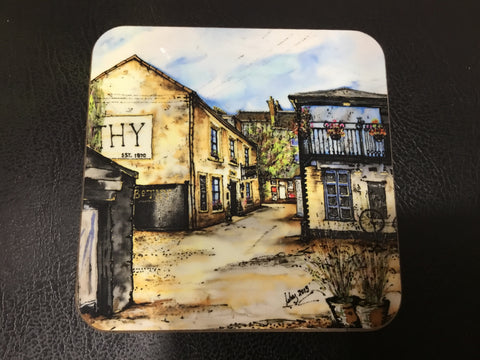 Scottish Themed Coaster-The Bothy, Glasgow Westend.