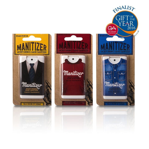 Moisturising Hand Sanitizers For Men - Manitizers