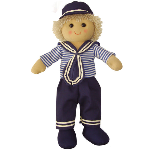 Sailor Boy 40cm Rag Doll