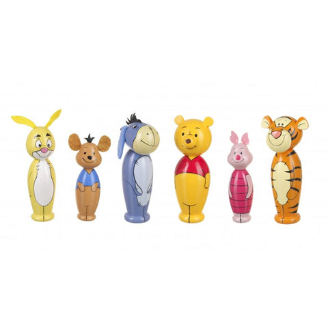 Traditional Brightly Coloured Winnie the Pooh Skittles For Children.