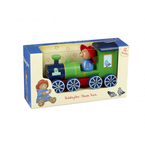 Traditional Wooden Toy - Paddington™ Steam Train Pull Along.