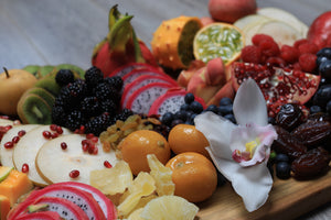 exotic fruit platter