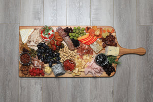 large classic charcuterie board