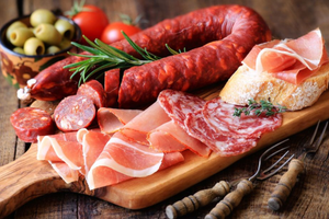 charcuterie cured meats