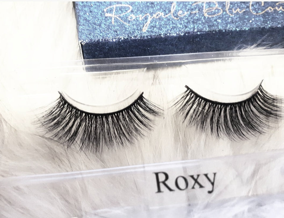 Roxy - 3D Silk Strip Lashes - Royale-Blu Couture Lash