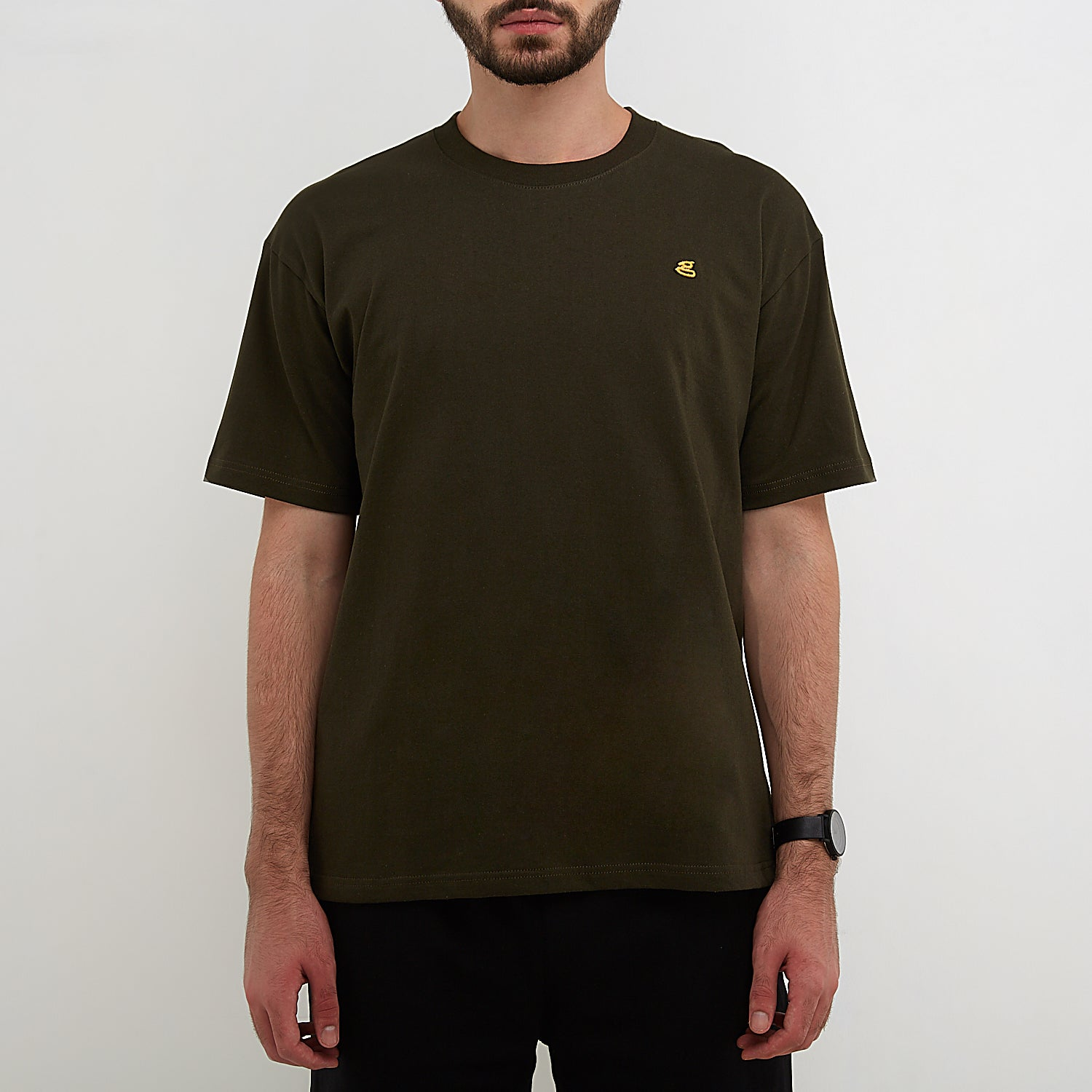 Austin Emroidered Army T-Shirt