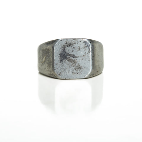 Thruxton Antique Ring Silver
