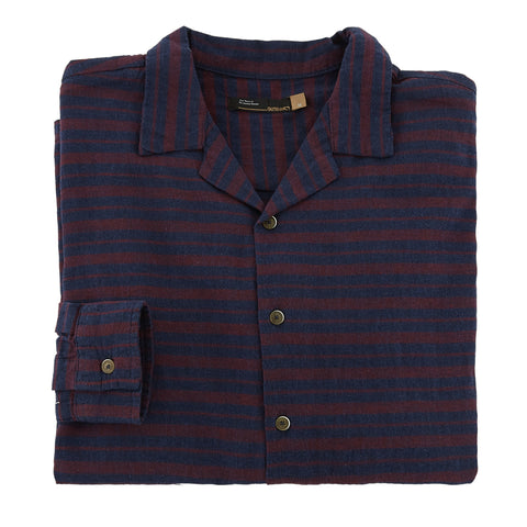 Leicester Flannel Camp Collar Shirt LS
