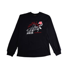 Quit Love Long Sleeve Black T-shirt