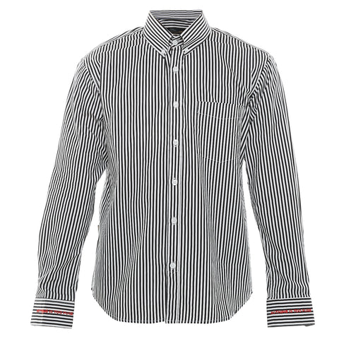 Blaire Black Stripe Shirt