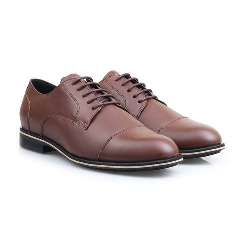 Lana Derby Captoe Brown