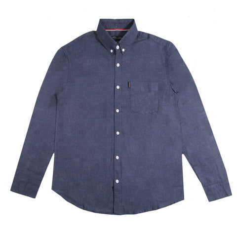 Berlin Two Tone Blue Shirt