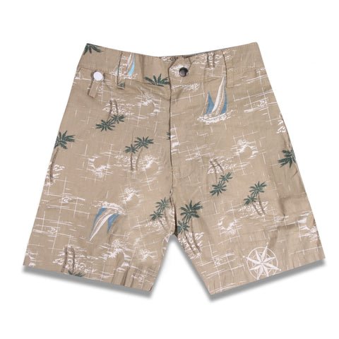 Boat Short Linen Cream