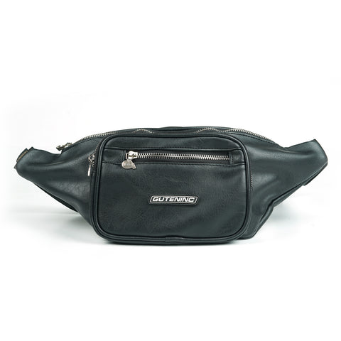 Hilton Leather Waistbag Black