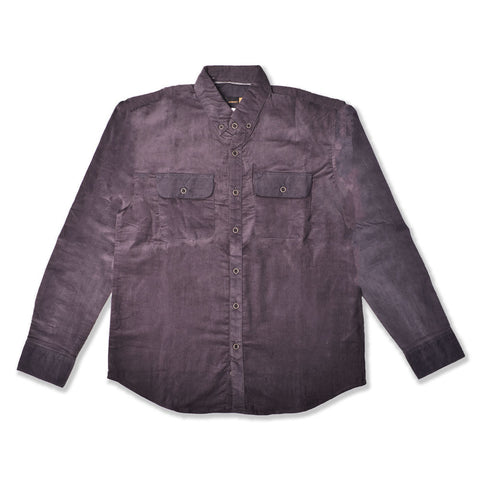 Muller Corduroy Dark Grey Shirt